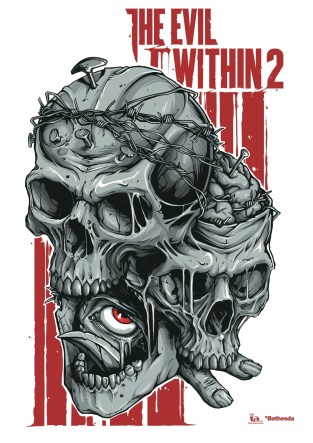 The Evil Within 2 poster by Nedelko Oleg Andreevich