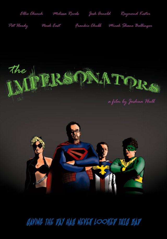 The Impersonators movie poster by Jason Spore