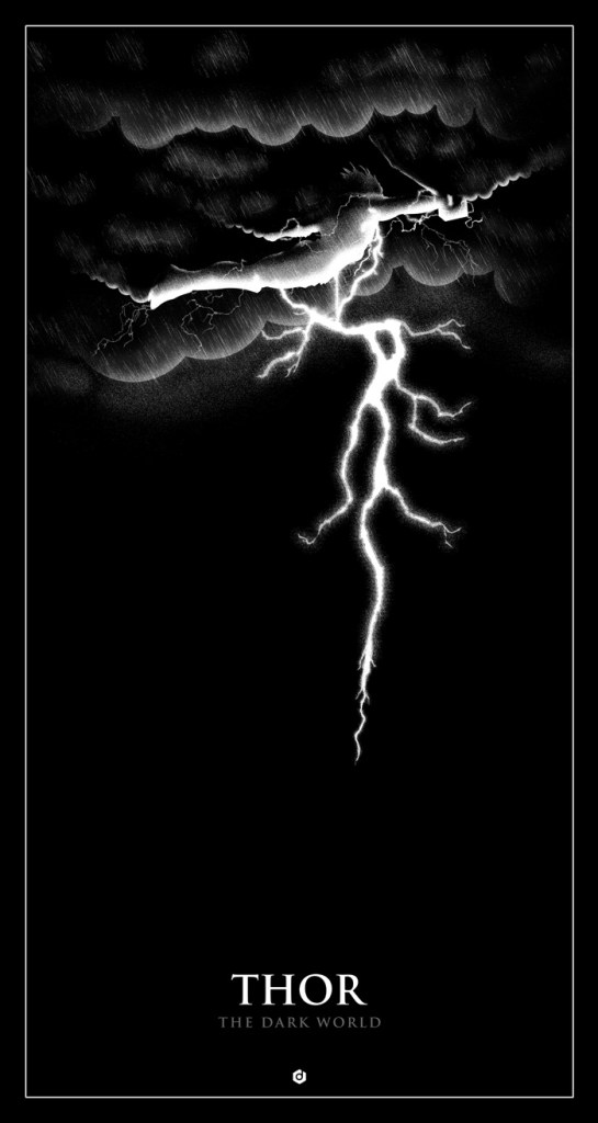 Thor The Dark World poster by Doaly