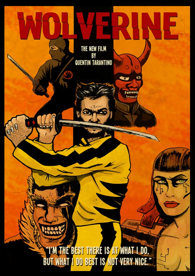 Wolverine - Kill Bill mashup by Zach Roper