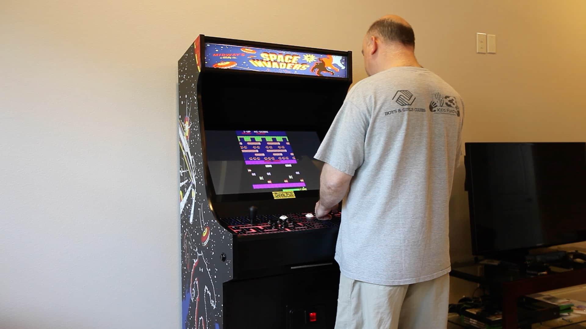 Arcade Cabinet Plans  The Geek Pub