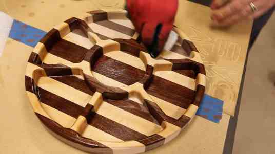 Make a Wooden Party Serving Tray 0025