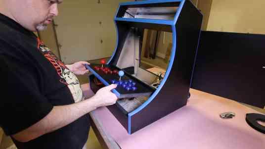 RetroPie Bartop Arcade Cabinet 0060