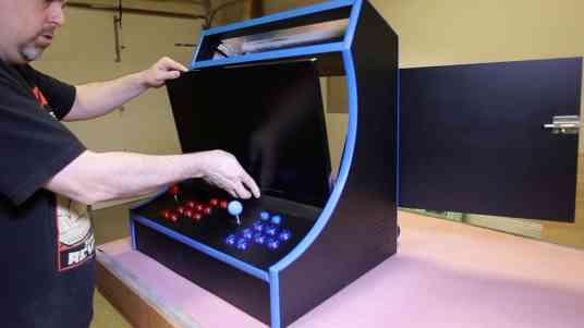 RetroPie Bartop Arcade Cabinet 0061
