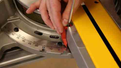 Miter Saw not Cutting Square - 0007