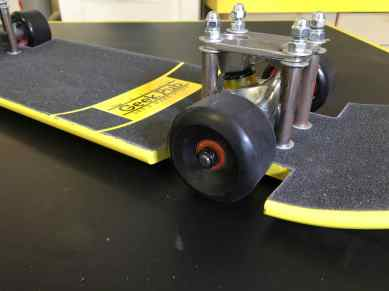 slammed lowrider skateboard build 0002