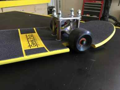 slammed lowrider skateboard build 0003