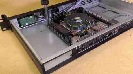 Building a 1U Server 0018