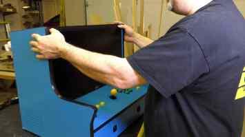 Pacade RetroPie Bartop Arcade Cabinet Build - 0040