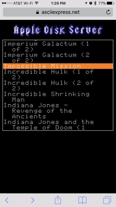 Transferring files to an Apple IIe - 0004