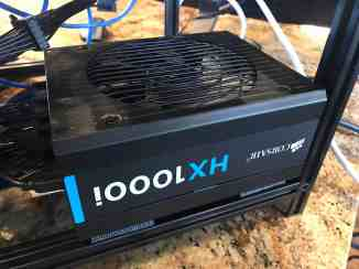 Tour of my Mining Rig 0007 - Corsair HX1000i PSU