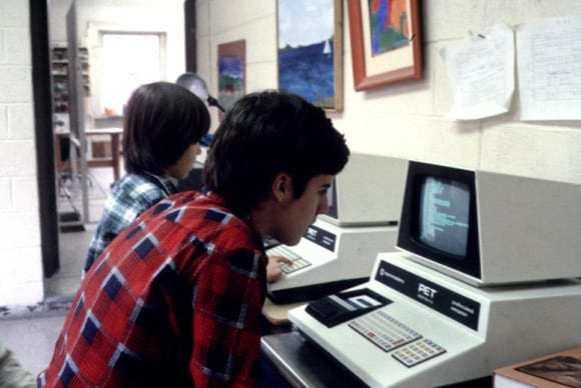 Repairing the Commodore PET 0001 - School Computer Lab