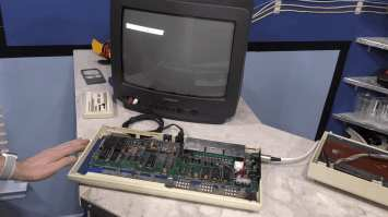 Commodore VIC-20 Restoration - Worst Condition Ever 0031 - working VIC-20