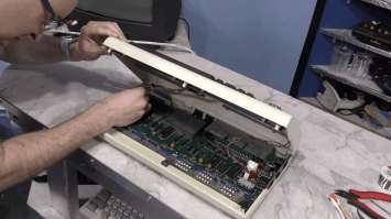 Commodore VIC-20 Restoration - Worst Condition Ever 0032 - working VIC-20