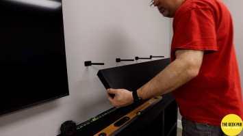 Installing the Floating Shelves