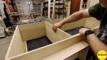 Building the Credenza Lower Set