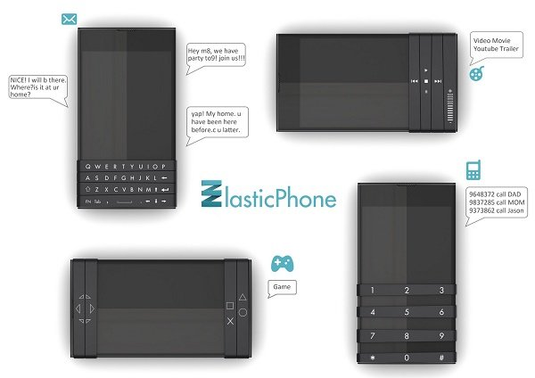 Elastic Phone.