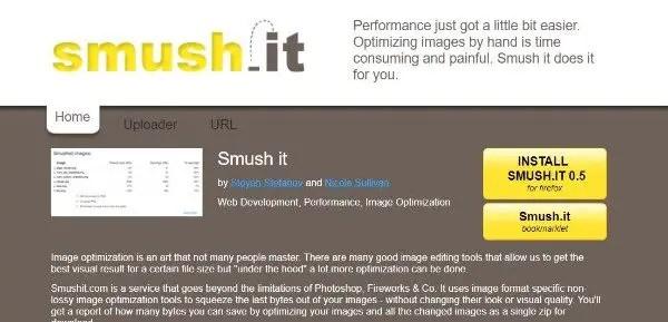 Smush it Image Optimizer