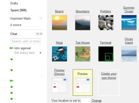 Gmail new UI