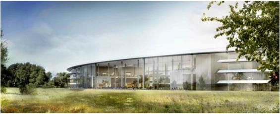 Apple's new office
