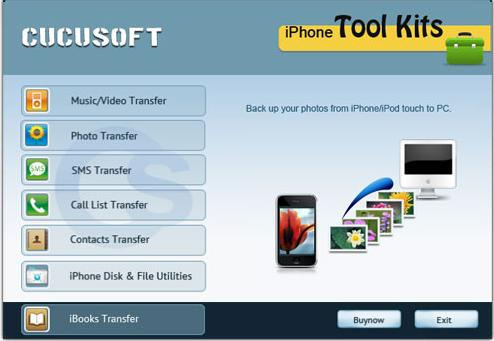 iPhone to BlackBerry transfer app