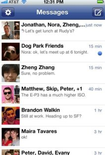 iPhone Gets Facebook Messenger 1.5 iOS 5 Compatibility