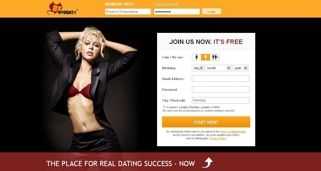 Dating sites related to benaughty