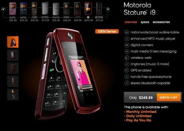 motorola-stature-i9 mobile