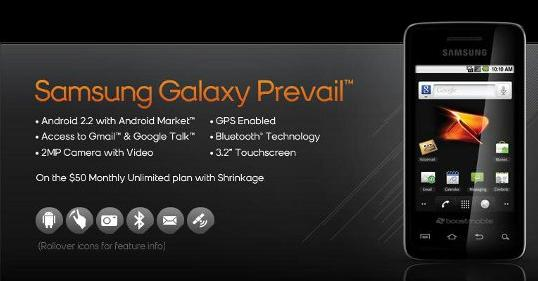 Samsung Galaxy Prevail Review