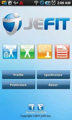 JEFIT Homepage