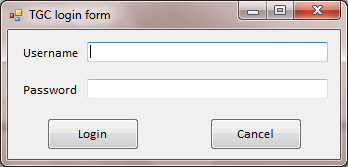 login form in Vb.net