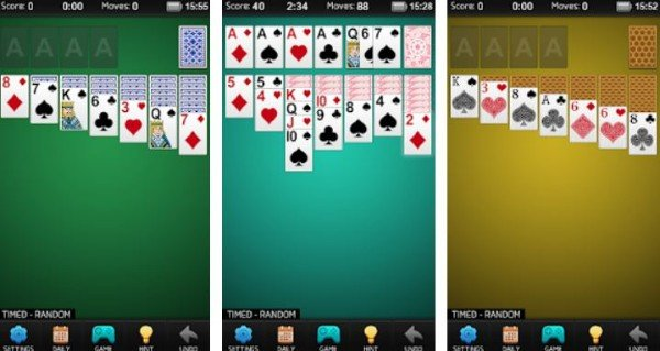 Solitaire game for Android