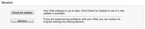Restore iPhone using iTunes Backup