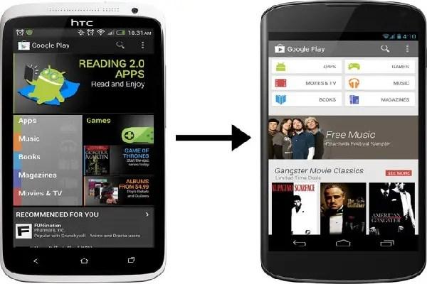 Smartphone redesign