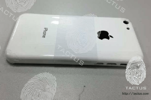 Tactus iPhone 5 shell leak