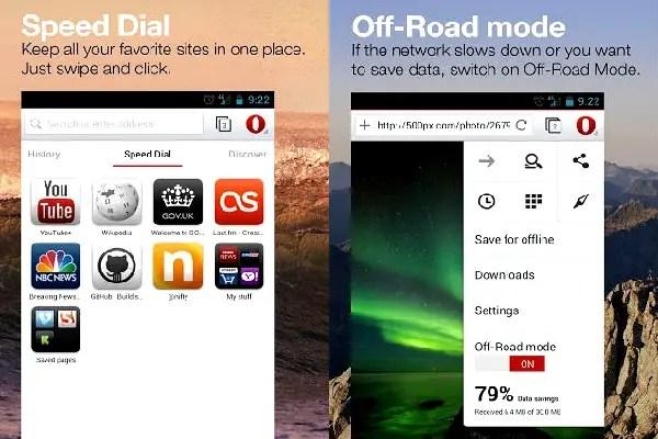 Opera Webkit browser