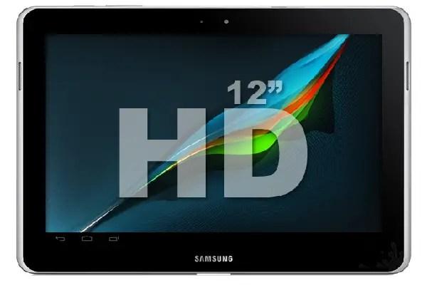 Samsung 12 inch HD tablet