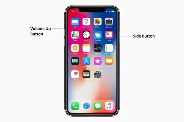 newer iphone screenshot steps