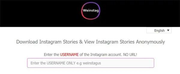 WeignStag website