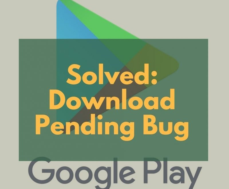 Download Pending Bug