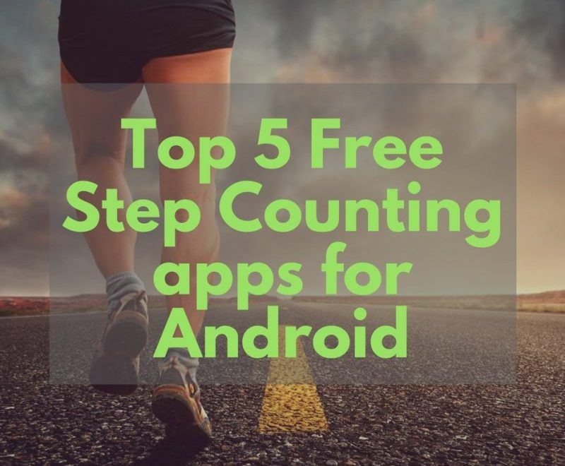 Free Pedometer apps for Android
