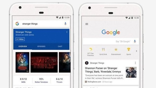 How to disable trending story cards in Google feed