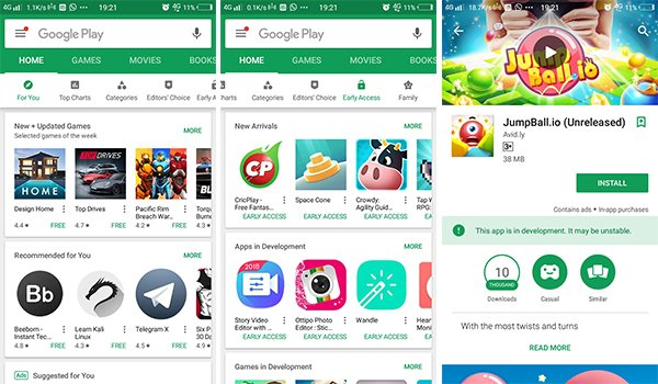 Get Early Access to Unreleased Play Store Apps