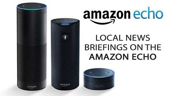 Find local, and International News on Alexa