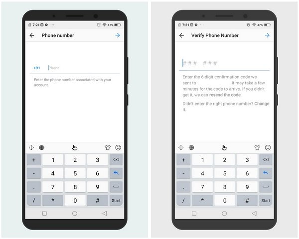 Enable two-factor authentication on your Instagram account