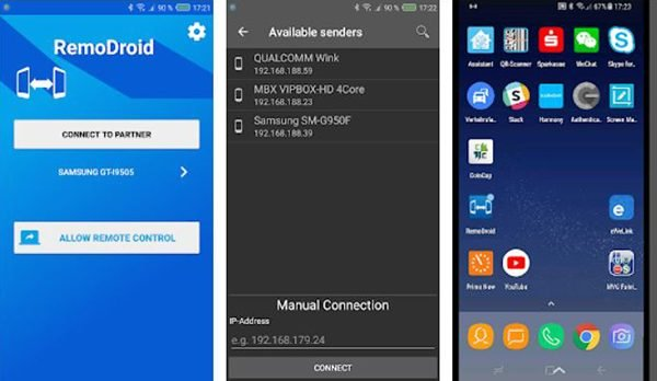Remodroid remotely control your Android Smartphone