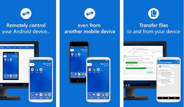 Quick Support remotely control your Android Smartphone