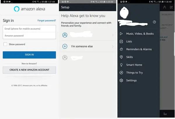 Use Alexa on Android phone