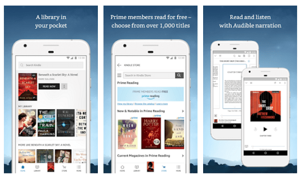 Ebook reader lets you read free EBooks on Android phone