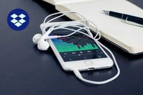 Play Music Directly Dropbox